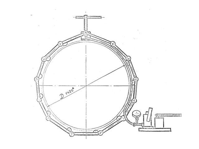 Центраторы гидромеханические для сварки труб DN 1020-1420