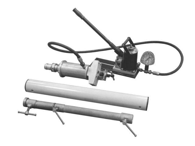 Калибратор овальности и торцевых вмятин труб DN 720 - 1420