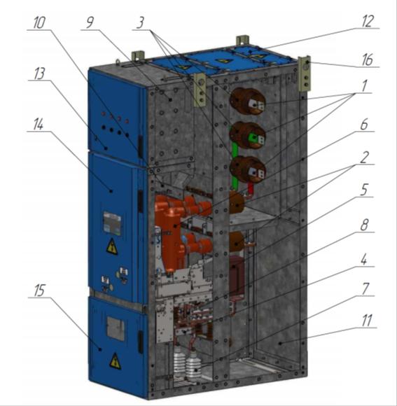 Комплектное распределительное устройство серии «Атом КРУ»