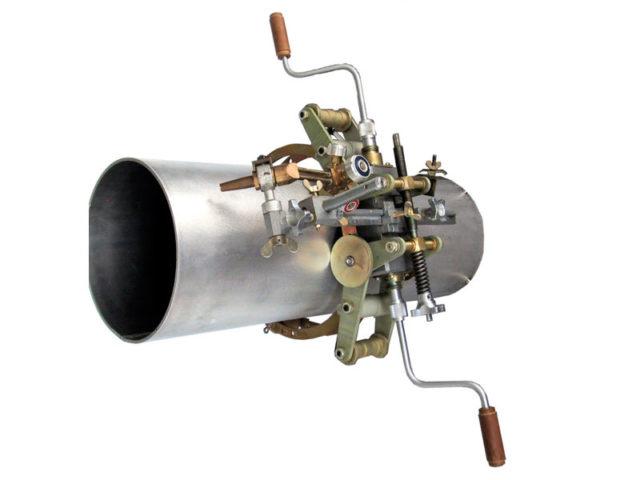 """Машина для резки труб DN 400 - 1400 с ручным приводом """"Комета"""""""