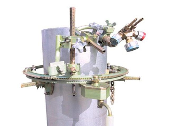"""Машина для резки труб DN 159 - 325 с ручным планетарным приводом """"Спутник-1"""""""