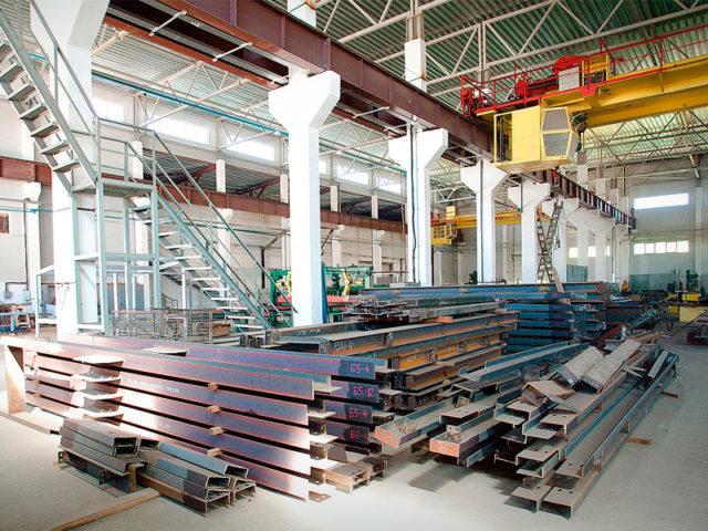 Производство крупногабаритных металлоконструкций
