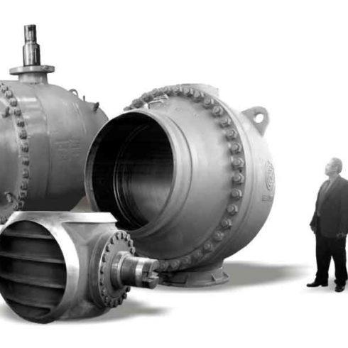 Капитальный ремонт шаровых кранов DN 300 - 1400