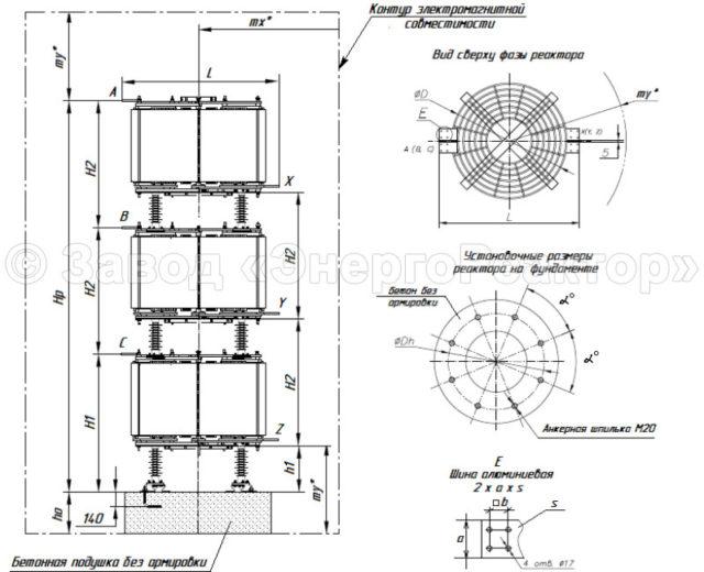 Токоограничивающие реакторы РТСТ